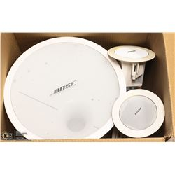 BOSE SPEAKERS KIT INCL SUBWOOFER AND 4 TWEETERS