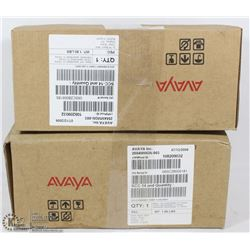 LOT OF 2 NEW AVAYA  ANALOG WALL MOUNT PUSH BUTTON