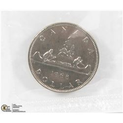 MINT SEALED UNCIRCULATED 1968 CANADIAN DOLLAR COIN