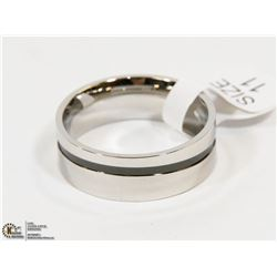 NEW DALE MIRROR POLISHED STAINLESS STEEL RING