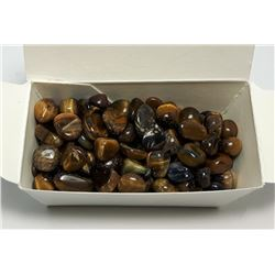 #6 - LOT OF 100 GRAMS OF POLISHED TIGERS EYE