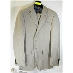 2PC DANIEL HECHTER SAND TWEED SUIT SIZE 38T