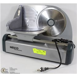 NESCO MEAT SLICER WITH ACCESSORIES