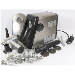 CUISINART MEAT GRINDER WITH  ALL  ATTACHMENTS