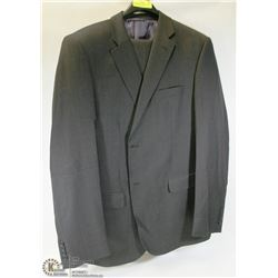 2PC JONES NEW YORK BLACK SUIT 44T JACKET 38L PANTS