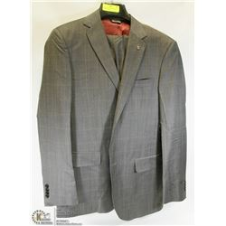 2PC STONEHOUSE GREY SUIT 42T JACKET 36 PANTS