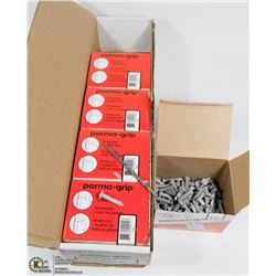 "CASE OF 1-18"" PERMA GRIP FASTENERS"