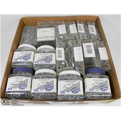 FLAT OF DRYWALL & PARTICLE BOARD SCREWS SIZES INCL