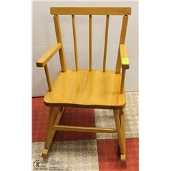 PINE CHILDS ROCKING CHAIR