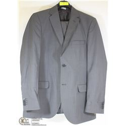 2PC STONEHOUSE GREY PINSTRIPE SUIT 42T PANTS 36T,