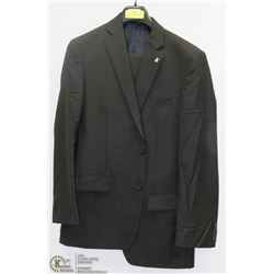 2PC DANIEL HECHTER BLACK SUIT SIZE 40L