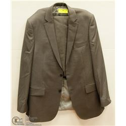 2PC BELLISSIMO GREY SUIT 42T JACKET 36L PANTS