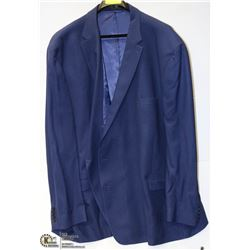 BIG & TALL SIGNATURE NAVY BLUE 68L SUIT JACKET