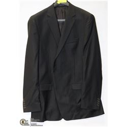 BRITCHES BLACK PINSTRIPE 44XL SUIT JACKET 100%