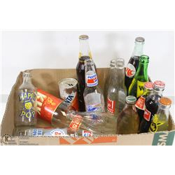 FLAT OF 15 BOTTLES AND 1 CAN