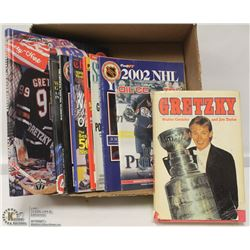 LOT OF WAYNE GRETZKY BOOKS  AND MORE