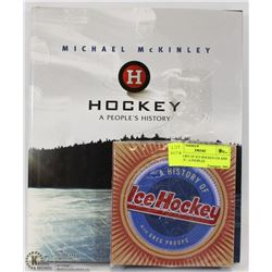 A HISTORY OF ICE HOCKEY CD AND HOCKEY:  A PEOPLES
