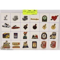 """COLLECTOR PACK """"VARIETY #5"""" LAPEL PINS"""
