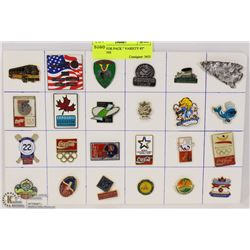 """COLLECTOR PACK """" VARIETY #2"""" LAPEL PINS"""