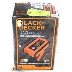 BLACK & DECKER WATERPROOF BATTERY CHARGER