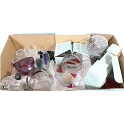 BOX W/NEW PARTYLITE VOTIVE HOLDERS &