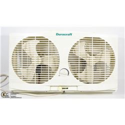 DURACRAFT DUAL WINDOW FAN