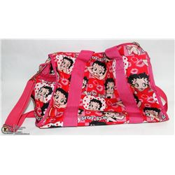 BETTY-BOOP BAG W/HAND & OVER-SHOULDER