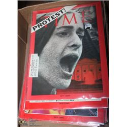 22 VINTAGE RETRO TIME MAGAZINES