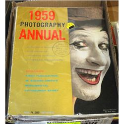 8 VINTAGE RETRO PHOTOGRAPHY MAGAZINES