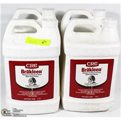 FOUR 3.78L JUGS OF BRAKLEEN