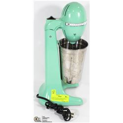 HAMILTON BEACH DRINK MIXER METAL AND PLASTIC WITH