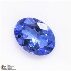 1) GENUINE TANZANITE GEMSTONE