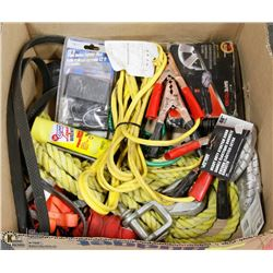LARGE BOX OF AUTOMOTIVE ITEMS INCL.