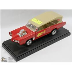 1:18 MONKEES GTO HOT ROD DIE CAST