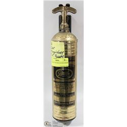 1926 BRASS CAR FIRE EXTINGUISHER