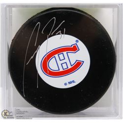 MONTREAL CANADIENS CAREY PRICE SIGNED PUCK W/ COA