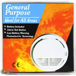 NEW SMOKE ALARM  WITH BATTERY