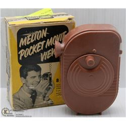 VINTAGE MELTON 8MM POCKET MOVIE VIEWER