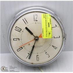 VINTAGE WETCLOX ELECTRIC WALL CLOCK
