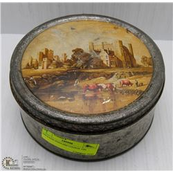 VINTAGE ENGLISH COOKIE TIN