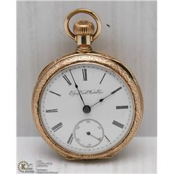 ELGIN SIZE 18 -7 JEWEL MODEL 5 POCKET WATCH DATES