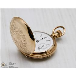 NEWYORK STANDARD SIZE 6 POCKET WATCH , 7 JEWEL