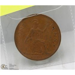 1963 CANADIAN LARGE PENNY