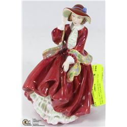 "ROYAL DOULTON HN1834 ""TOP OF THE HILL "" FIGURINE"