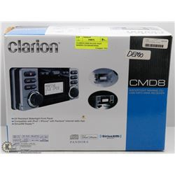 CLARION CMD8 WATER TIGHT MARINE CD/USB/MP3/WMA