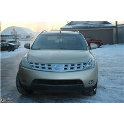 2004 UNRESERVED! NISSAN MURANO AWD SL