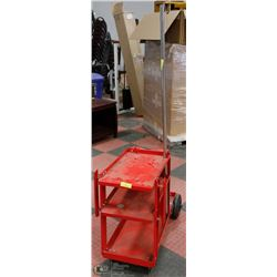RED WELDING CART