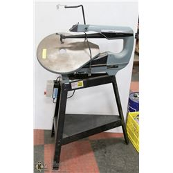 "DELTA 20"" 6- SPEED SCROLL SAW W/ STAND"