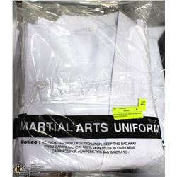 BUNDLE OF 3 NEW SIZE 8/220 MARTIAL ARTS UNIFORMS