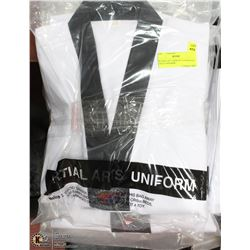 BUNDLE OF 5 NEW SZ 1/150 MARTIAL ARTS UNIFORMS